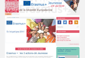 Jeunesse en action - Le site